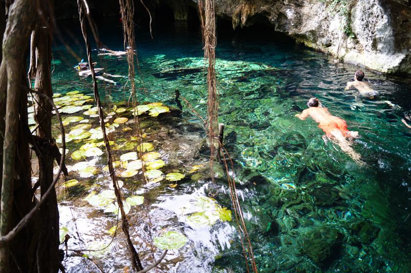 카리브 해 일주 #5, 그레잇! 그란 세노테! – 멕시코, 툴룸