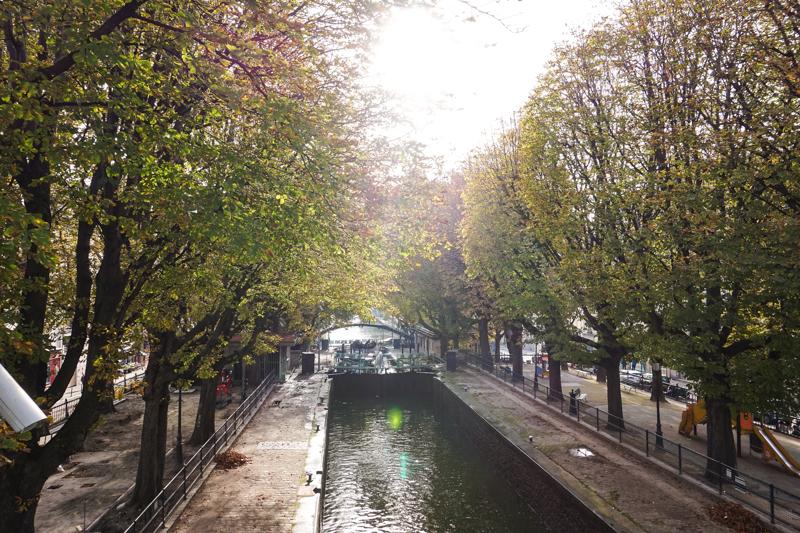 소소한 파리를 만나는 시간 – 파리, 생마르탱 운하